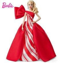 Кукла Барби Праздничная из натуральной коллекции светлые волосы