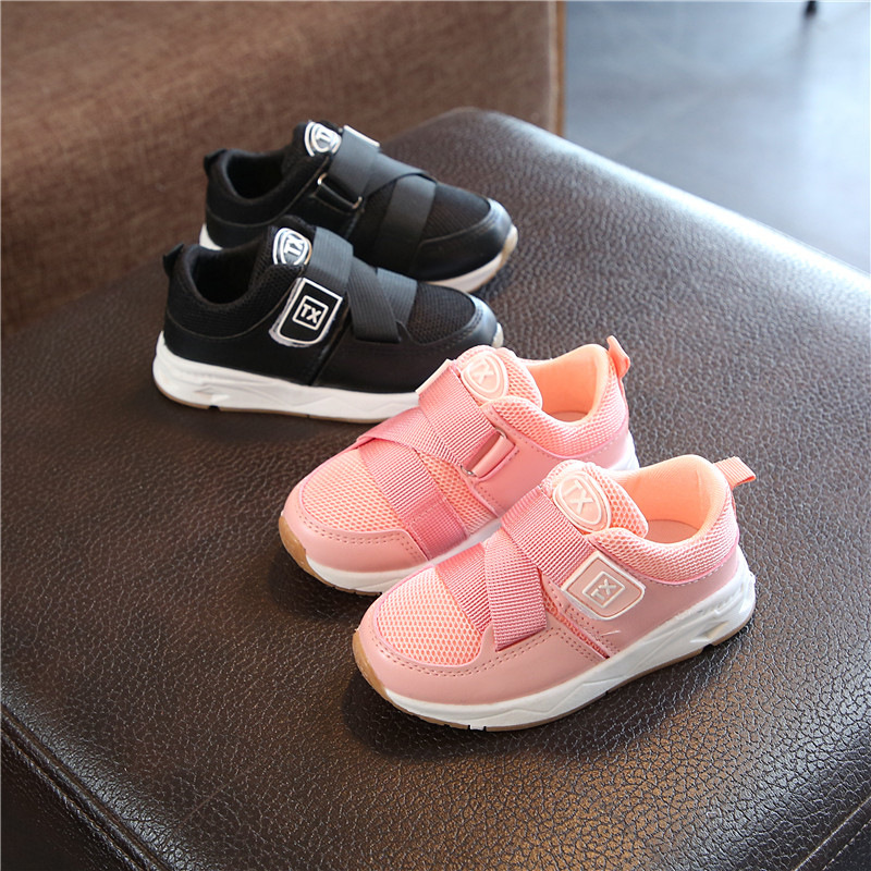 2020 Childrens Shoes Boys Girls Fashion Sneakers Mesh Breathable Casual Shoes New Kids Baby Sports Running Shoes Anti-slip Soft