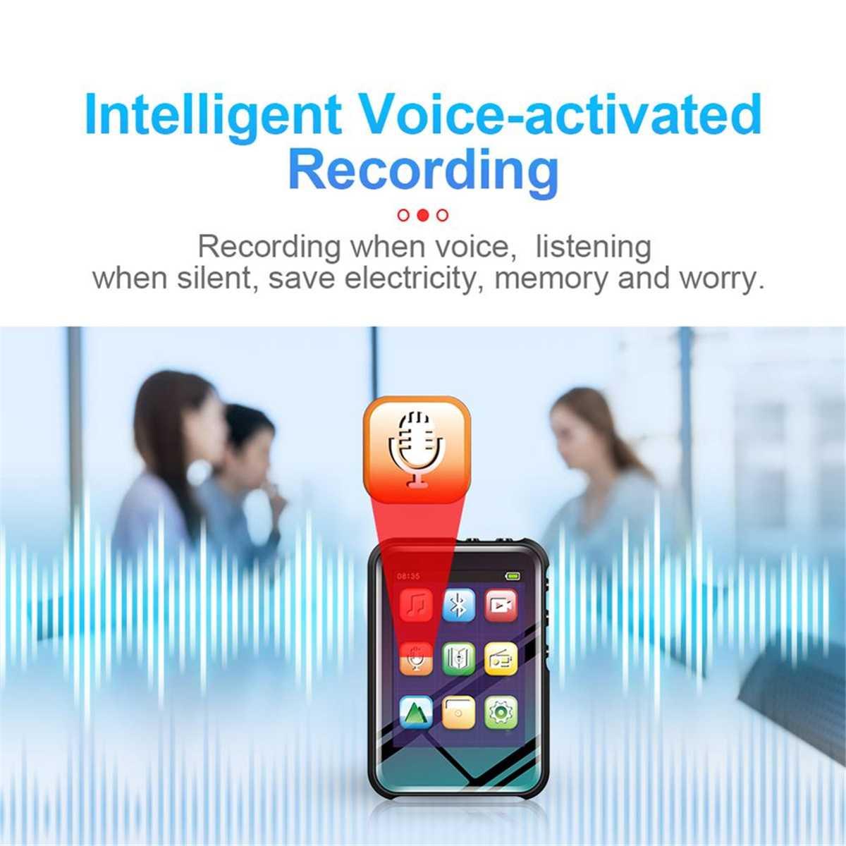 Stereo Music Player mini Portátil Fino MP3 MP4 Jogador
