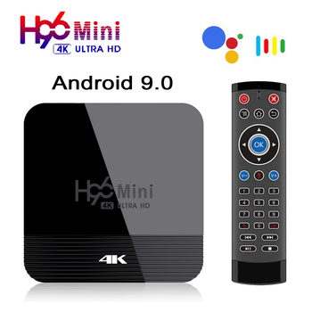 H96 Mini H8 Android 9.0 Smart TV Box 2GB 16GB RK3328A 2.4/5G Wifi 4K Youtube Media Player BT4.0 4K H96Mini Set Top Google Play original global version xiaomi mi box 3 2gb 8gb android 6 0 smart 4k ultra hd movie wifi google media player multi language