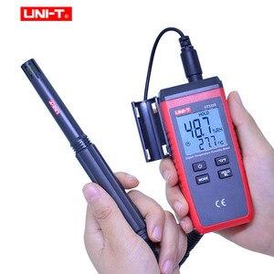 Image 3 - UNI T UT333S מיני טמפרטורת לחות מד ללא מגע מדחום מדדי לחות עומס יתר אינדיקציה LCD תאורה אחורית