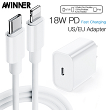 AWINNER USB Quick Charge 3.0 QC 18W USB Charger QC3.0 Fast Wall Charger Mobile Phone Charger For Samsung Huawei Xiaomi iPhone 12