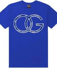 Camiseta de gángster OG, ropa urbana de calle, ropa de LA Crenshaw, Compton, crip, pañuelo azul