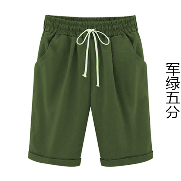2020 New Autumn And Winter Women's Wide-legged Wild Was Thin Shorts  Casual And Comfortable