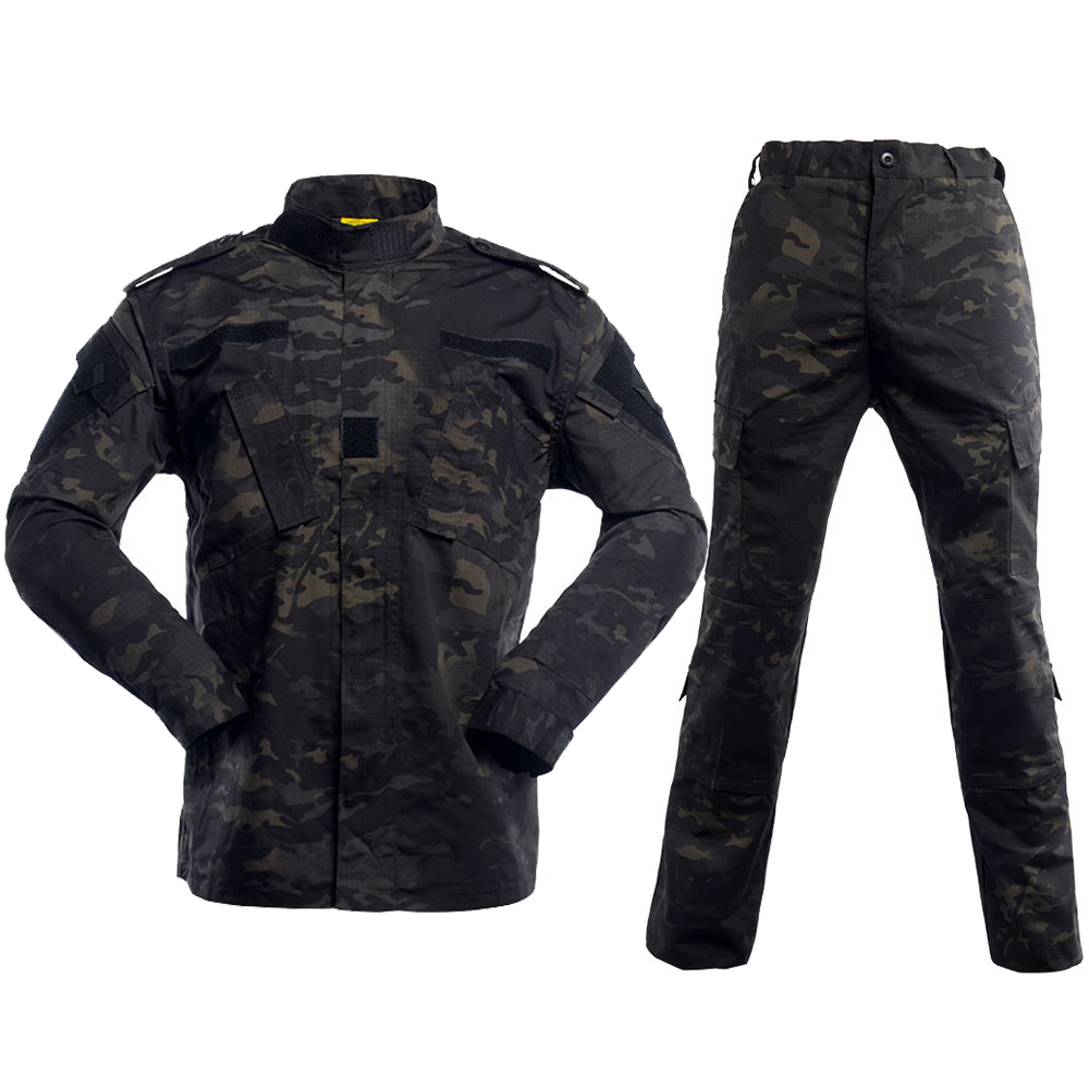 Mege Camouflage Army Tactical Military Uniform Combat Assualt Clothing Special Forces ACU BDU Militar Uniforms Airsoft Paintball
