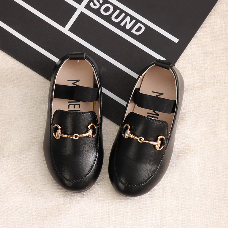MXHY2019 Spring Summer And Autumn New Girls Princess Shoes Baby Korean Version Single Shoes Children's Small Shoes Shoes Kids