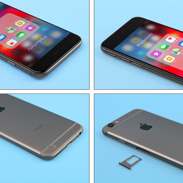 RU Local Shipment Used Original Unlocked Apple iPhone6 iphone 6 Unlocked 4.7inch 16GB/64GB/128GB 3 Colors Available Fingerprint 3