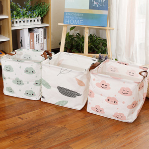 Underwear Makeup Cosmetic Organizer Jewelry Toy Scarf Socks Laundry Baskets Sundries Storage Box Foldable Desktop Storage Basket