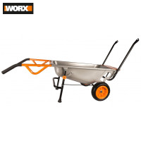 Garden Carts WORX WG050 wheelbarrow cargo Supplies Home wheelbarrows cart handcart