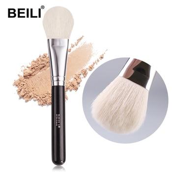 BEILI Blush Makeup Brush Single Multi Functional Contour Loose Powder Make Up Brushes Round Black Handle  pinceles maquillaje 1