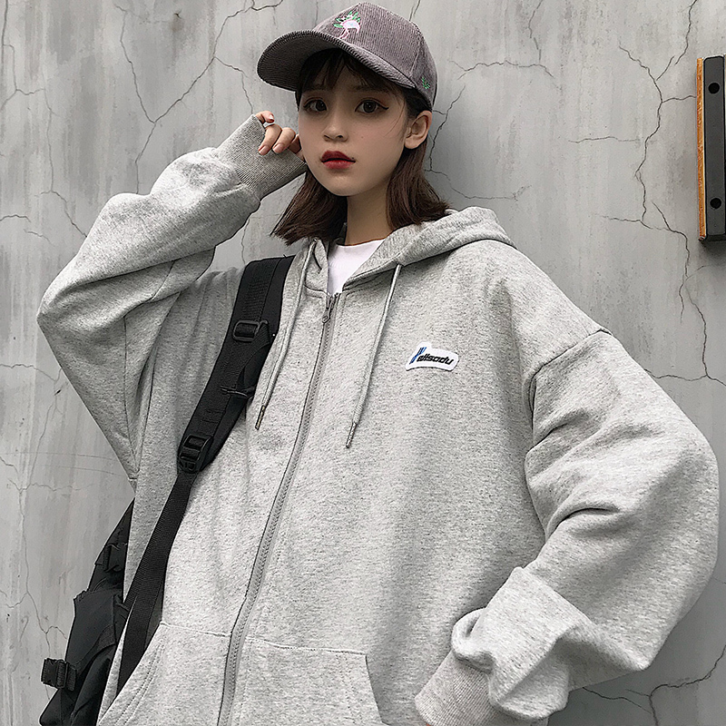 2020 Spring And Autumn New Youth Popular Couple Loose Hooded Sweatshirt Fashion Casual Wild Thin  Shirt Gray /Green/Blue