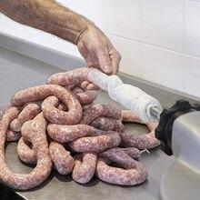 Hamburger comestible de qualité alimentaire, viande sèche de soja, saucisses, mètres de peau, traitement de la coquille d'intestin, bricolage d'outils de mouton manteau