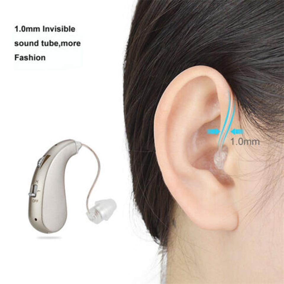 potência 1pc para idosos surdos próteses auditivas