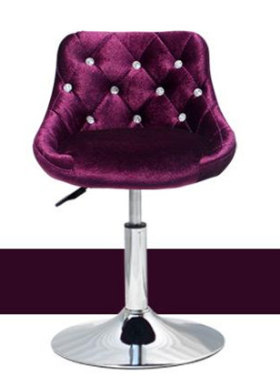 Bar Stool Modern Minimalist Bar Chair Lift Rotating Backrest Chair Home High Stool Bar Nails Stool