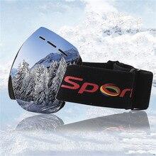 ski goggles UV400 anti-fog big ski mask glasses sunglasses skiing men women snow snowboard vector magnetic ski goggles uv400 protection anti fog snowboard ski glasses for men women snowboard ski glasses snow eyewear