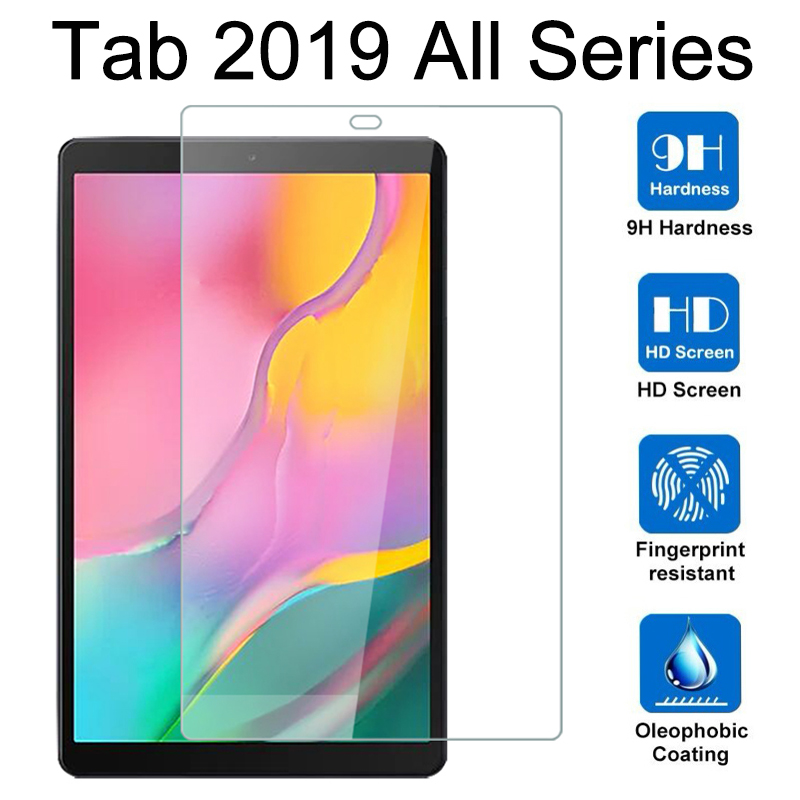 2019 Tablet Protective Glass For Samsung Tab A 10.1 8.0 S5e 10.5 Inch Screen Protector On Galaxy T725 T510 P205 Armor Cover Film