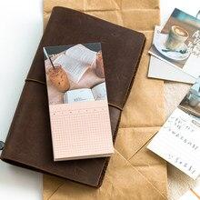 60 folhas/lote almofadas de memorando notas pegajosas doces sonhos diário papel scrapbooking adesivos escritório escola papelaria bloco de notas