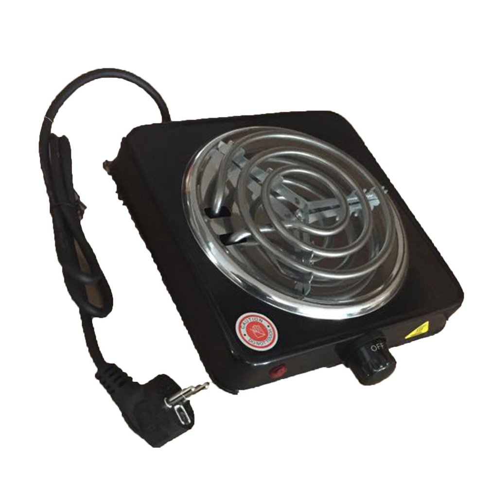 Electric Coal Lighter 1000W Portable Hookah Water Pipe Burner Hot Plate Electric Heater Stove Carbon Furnace