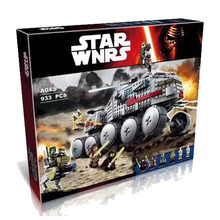New Star Wars Series Clone Turbo Tank Compatible Legoingly 75151 Building Blocks Toys for Children Christmas Gift