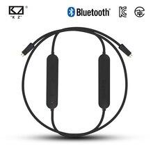 KZ Wasserdichte Aptx Bluetooth Modul 4,2 Drahtlose Upgrade Modul Kabel Gilt Original Kopfhörer Kopfhörer Für ZS10 ZSN Pro ZST