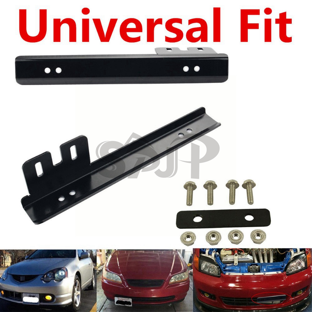 JDM Style Front License Plate Mount Relocate Bracket for MAZDA