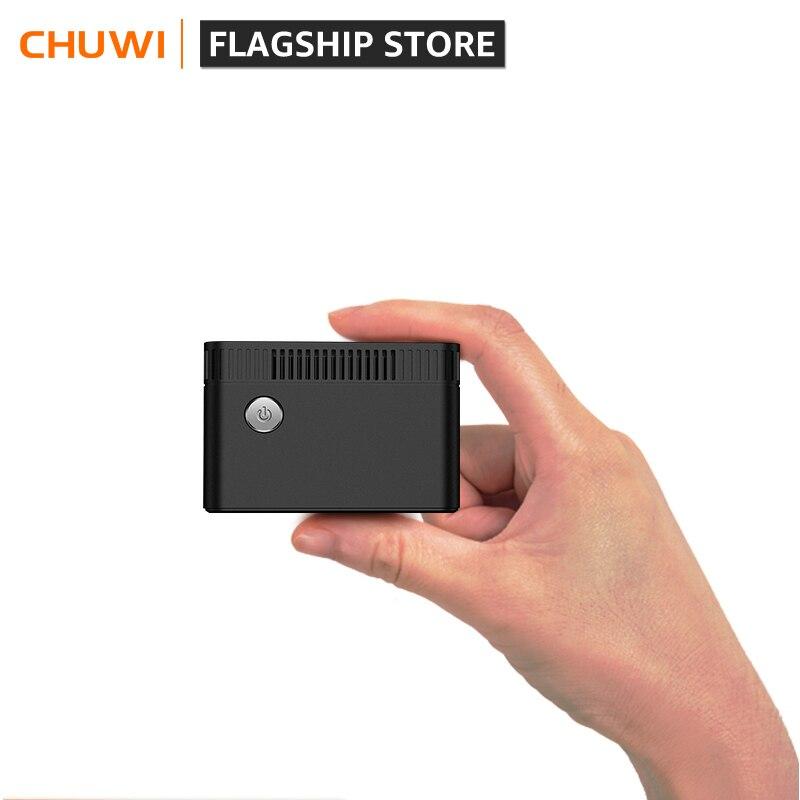 CHUWI Новый продукт 2020 года LarkBox 4K очень маленький мини-ПК Intel Celeron J4115 процессор windows 10 четырехъядерный процессор 6 Гб RAM 128G EMMC