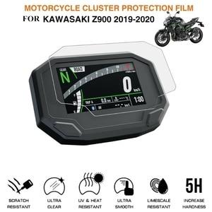 Motorcycle Cluster Scratch Protection Film Screen Protector for Kawasaki 2020 Ninja650 Z650 Z900