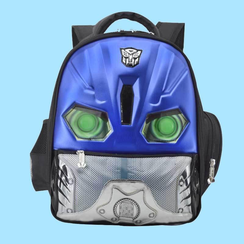 Schoolbag For Elementary School Students Transformers 1-3-6 Grade Hard Case Car Men's Children Baby Nursery Backpack