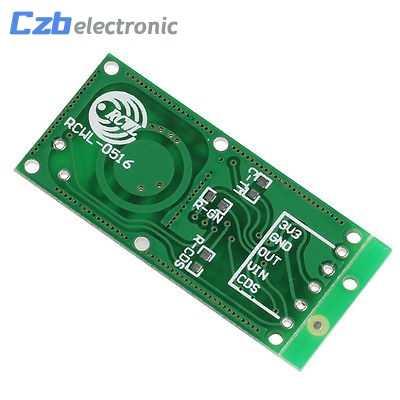 1 piezas Smart Electronics RCWL-0516 de radar de microondas, módulo de sensor de la inducción del cuerpo humano módulo interruptor de sensor inteligente