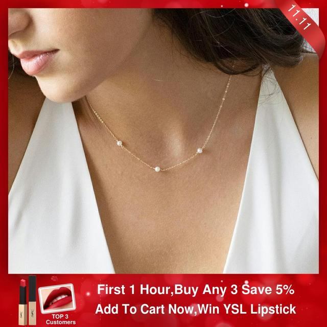 Boho collier femme kolye jóias boho colar feminino colar de prata colar de ouro feito à mão pérola natural enchido/925 gargantilha de prata