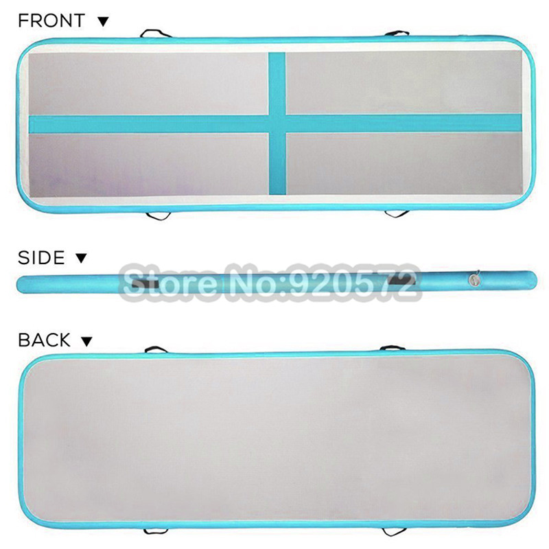 3M Cheerleading Gymnastics Mat With Free Pump Mini Size Airtrack Track Mats For Home Use DWF Material Airtrack Tumbling