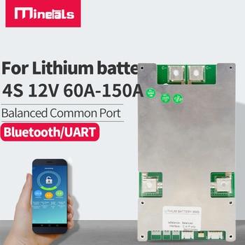 Bms 4s LiFePo4 60a 80a 100a 120a 150a bluetooth inteligente 12v lipo ion-litio de 18650 chargeand protección contra descarga board pcm 1