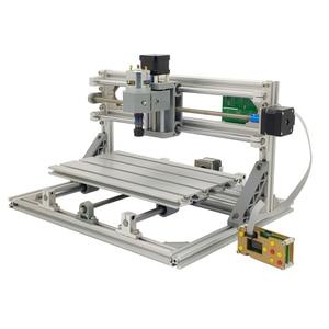 Image 3 - Minimáquina de gravação a laser CNC 3018 de 10W, ferramentas de corte GRBL, para madeira, CNC3018, Gravador 2 em 1