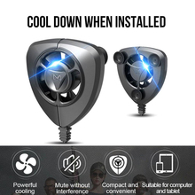 USB Mobile Phone Cooler Radiator Ultra-Quiet Fan For All Phones And Tablet Gaming Watching Movies Make The Battery More Durable