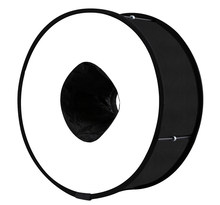 Speedlight Softbox Flash Diffuser Annular Universal Foldable Professional Photography Flash Light Accessories 45CM(China)