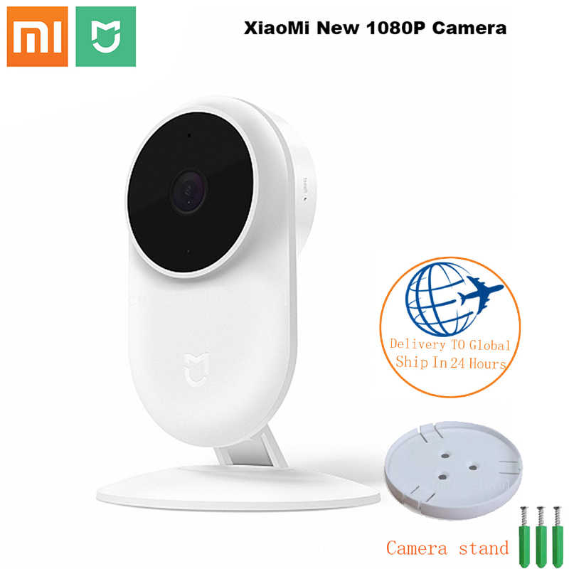 كاميرا آي بي ذكية أصلية من شاومي Mijia HD1080P 2.4G واي فاي لاسلكية 130 بزاوية واسعة 10 متر رؤية ليلية ذكية لأمن mihome