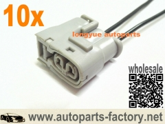 longyue 10pcs Ignition Coil Connector for <font><b>Toyota</b></font> <font><b>1JZ</b></font> <font><b>2JZ</b></font> <font><b>1JZ</b></font> GTE <font><b>2JZ</b></font> GTE Lexus SC300 Mazda RX7 S6/7 image