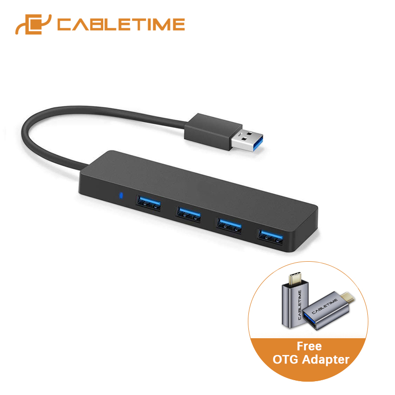 Cabletime usb cハブUSB3.0 同期データ 5Gbps-Transfer 4 18k USB3.0 ダークpc macbook air matebook × C305