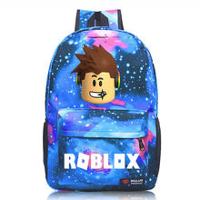 2019 Robloxer game casual backpack for teenagers Kids Boys Unisex Laptop Bags Children Student School Bags travel Shoulder Bag(China)