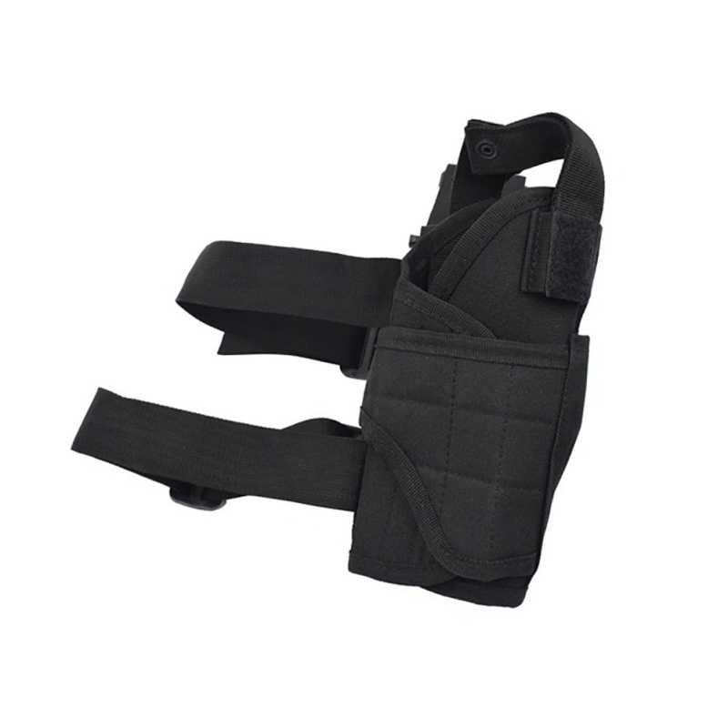 Tactical Leg Holster Glock Airsoft Gun nóżka stojak kabura torba regulowany magiczny pasek pas do uniwersalnego pistoletu