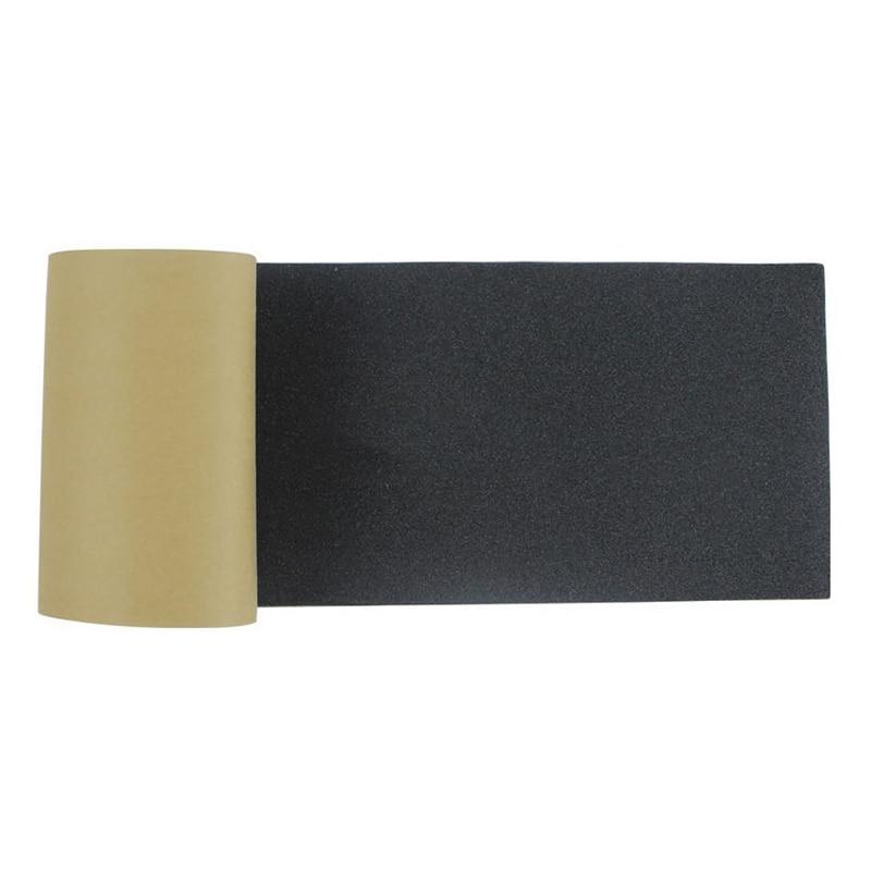 Longboard Grip Tape Skateboard Sheet Abrasive Paper Anti Slip Design Decoration Strip Black