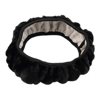 New Charm Warm Long Wool Plush car Steering Wheel Cover woolen Car Handbrake Accessory hot selling image