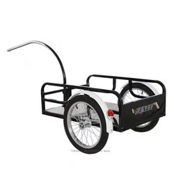 New Arrival Outdoor Bicycle Trailer, Utility Bicycle Cargo Trailer, Cycling Luggage Shopping Cart Carrier, Two Wheel Trolley