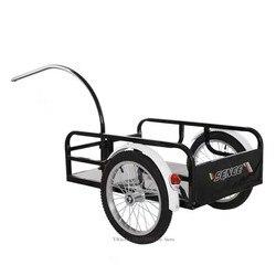 Nuevo Producto, remolque de bicicleta para exteriores, remolque de carga para bicicleta de utilidad, carro de compra para equipaje de ciclismo, carro de dos ruedas