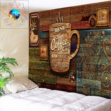 Wood Tapestry Psychedelic Mandala Wall Hanging Cafe Decoration Nordic Home Decor Boho Wall Art Hippie Wall Tapestry Cheap Toalla
