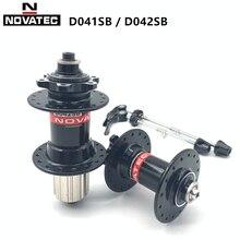 Велосипедная втулка Novatec D041SB D042SB, дисковый тормоз для горного велосипеда, ступица подшипника 28 32 36, отверстия для скорости HG 8/9/10/11