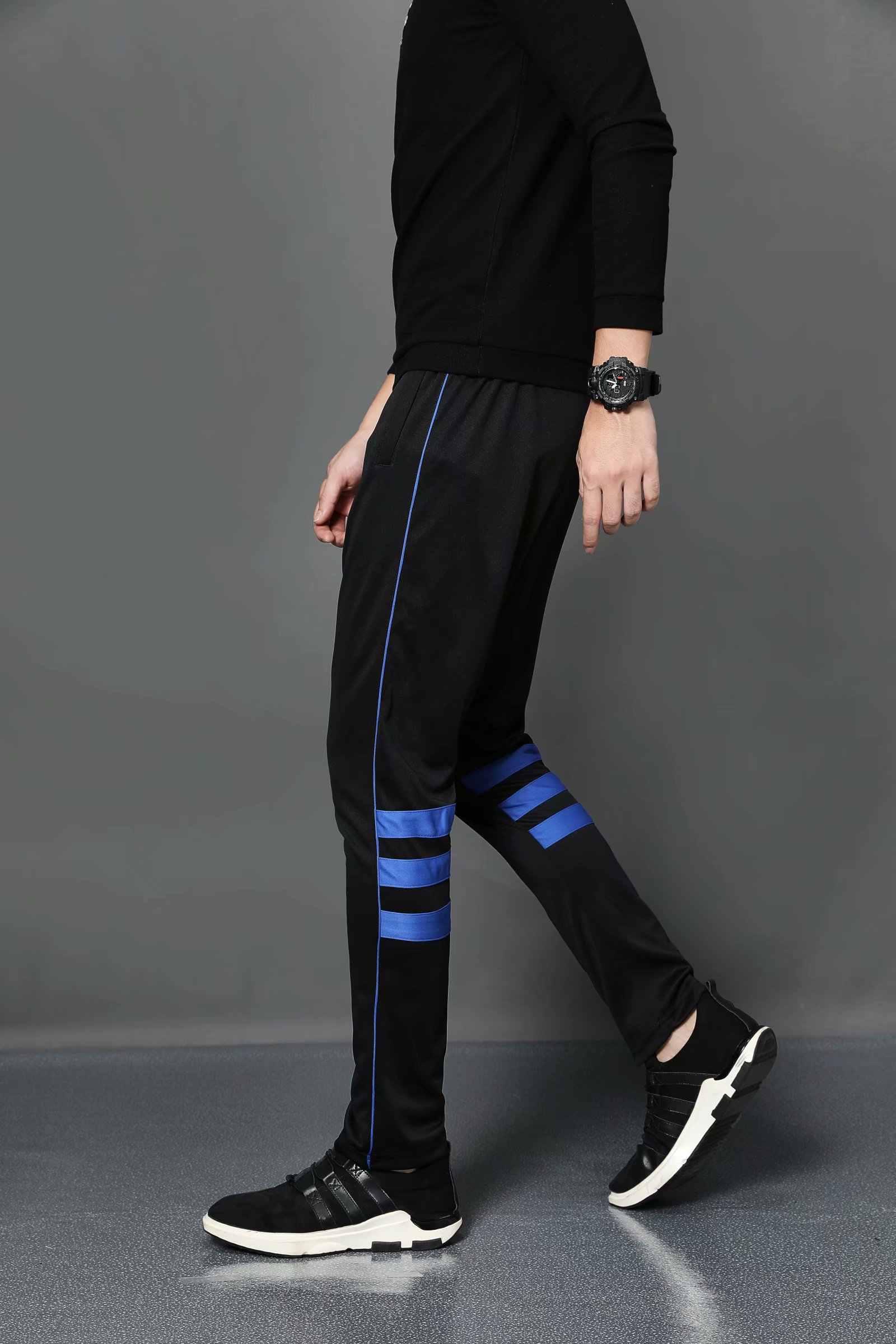 2020 primavera ginásio dos homens de treinamento jogging calças dos corredores dos homens magro ajuste futebol sweatpants algodão workout correndo calças esportivas