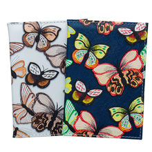 Butterfly Pu Leather Passport Cover for Women Smooth Card Passport Holder Cute Girls Travel Cover SIM card Storage bag(China)