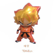 1 stuk Dragon Ball helium ballonnen Zon WuKong Monkey King KAME-SEN 'NIN Dragon Ball thema verjaardagsfeestje decoratie kids toies(China)