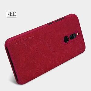 Image 4 - Caes Voor Xiaomi Redmi 8A 8 Redmi8 Global Versie Nillkin Qin Serie Pu Leather Flip Cover Redmi 8 Case